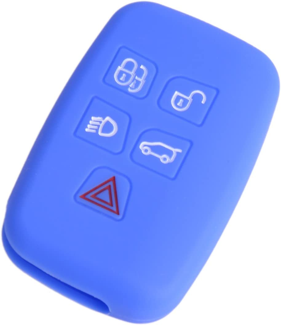 Silicone Remote Smart Key Cover Case For LR Discovery 4 Range Rover Sport Evoque