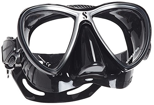 Scubapro Synergy 2 Twin Scuba Diving Mask (Black/Silver)