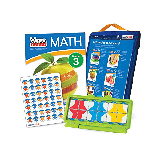 Math Games For Kids By VersaTiles (Ages 8+) | Learning Essential Math Skills At Home (Self Guided Puzzle Workbook & Self Checking Answer Case) | Great Gift For Girls & -