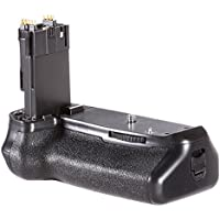 Neewer Battery Grip Holder (Replacement for BG-E14) Work with LP-E6 Battery or 6 Pieces AA Batteries for Canon EOS 70D 80D DSLR Camera