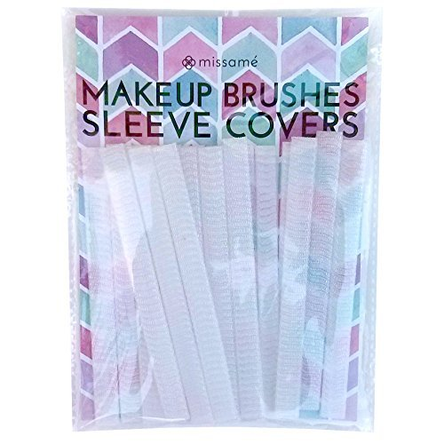 Missam Mesh Sleeve Covers Protector For Makeup Brushes, Keep Cleaner Brush Set In Storage Or Travel, 20 Piece by Missam