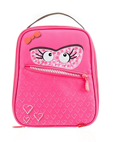 Zipit Talking Monstar Lunch Bag, Dazzling Pink (ZTLB-AR-SKY) Photo #4