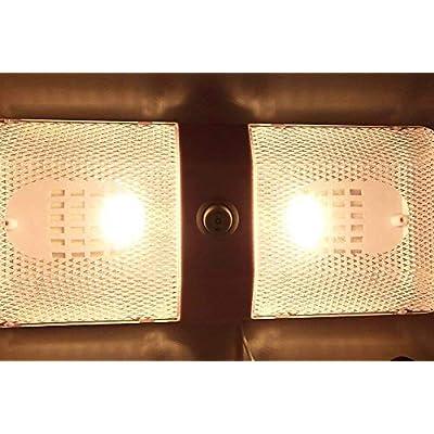 Grv T10 194 LED Light Bulb 192 C921 24-3528 SMD Super Bright DC 12V 2 Watt For Boat RV Trailer Camper Motorhome Ceiling Dome Interior Light Warm White (2nd Generation) Pack of 6: Automotive