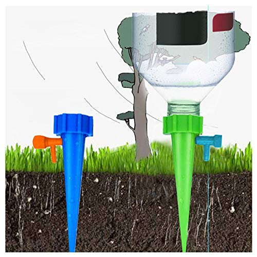 - Plant Waterer, Self Watering Spikes, Plant Watering Devices with Slow Release Control Valve Switch, Automatic Vacation Drip Watering Bulbs Globes Stakes System for Indoor & Outdoor Plants (30 pcs)