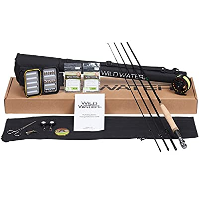 Wild Water Deluxe 5/6 9' Rod Fly Fishing Complete Starter Package from Wild Water Fly Fishing