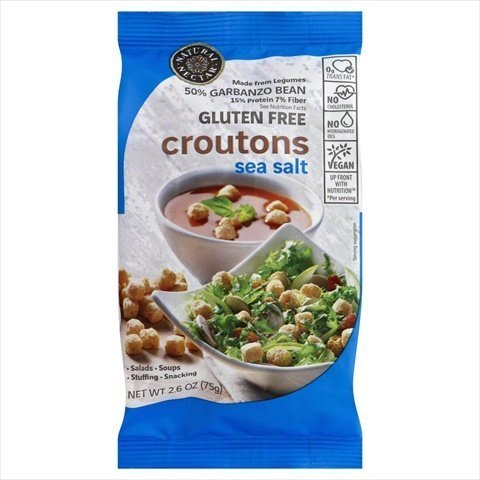 Natural Nectar Croutons Sea Salt Gluten Free, 2.06 oz
