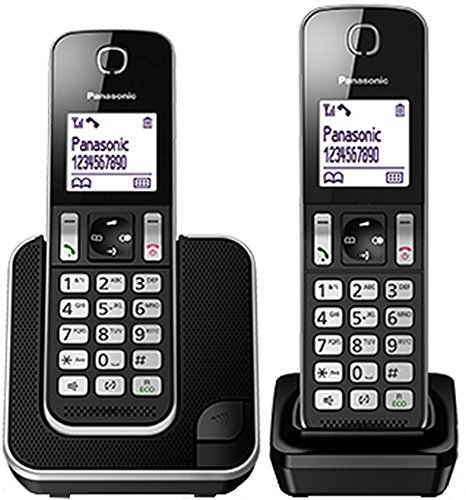 34 opinioni per Panasonic KXTGD312 Telefono Cordless DECT Duo, Nero