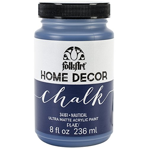 FolkArt Home Decor Chalk Furniture & Craft Paint in Assorted Colors (8 Ounce), 34161 Nautical