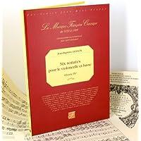 Six sonates pour le violoncelle et basse