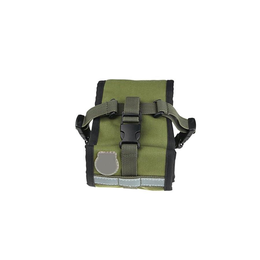 Bike Seat Pack, BlueTop Waterproof Cycling Rear Seat Trunk Bag Army Green Saddle Bags Mountain Bike Bag Bicycle Accessories