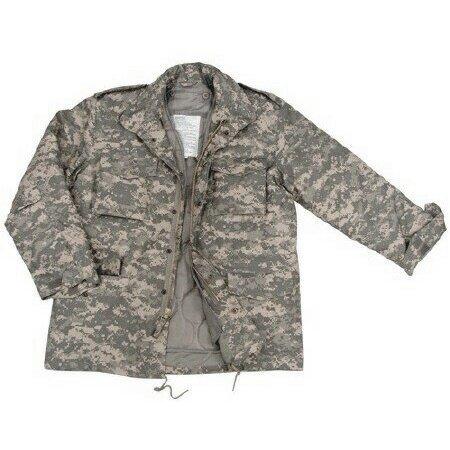Acu M-65 Field Jacket (Rothco ACU Army Digital Camouflage M-65 Field Jacket 8540)