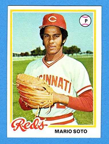 Mario Soto 1978 Topps Rookie Card Near Minti Ship Within