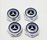 mercedes benz frame license plate - 4 Pcs Separate Chrome LICENSE PLATE FRAME Bolt Screws For Mercedes Benz Series