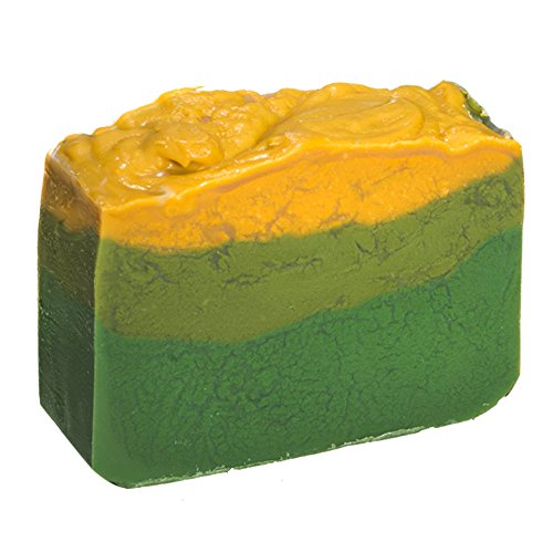 Avocado Soap (4Oz) - Handmade Soap Bar with Jasmine Essential Oils and fresh Avocado slurry - Organic and All-Natural - by Falls River Soap Company