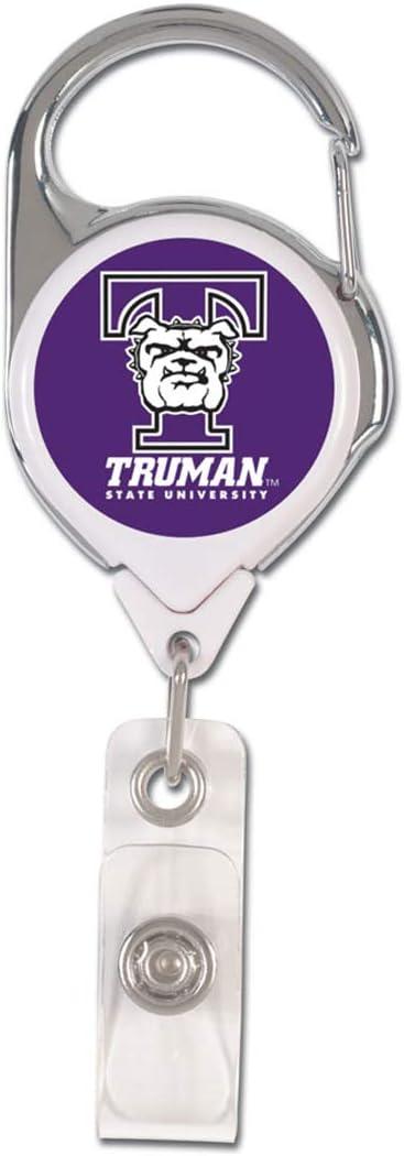 Truman State University 1 Lanyard with Safety Breakaway and 1 Premium Badge Reel WinCraft Bundle 2 Items