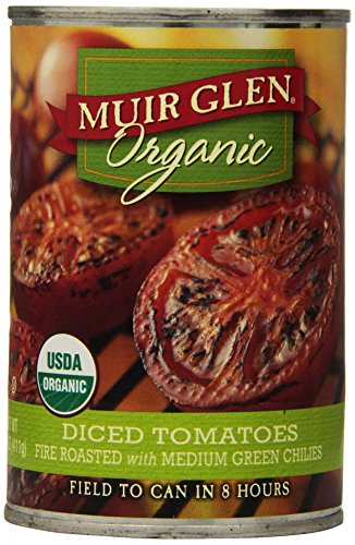 Muir Glen Organic Diced Tomatoes, Fire R - Diced Fire Roasted Tomato Shopping Results