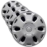 Premium Hubcap Set for Ford Transit Connect 2010, 2011 2012, 2013 - Replacement 15-inch Wheel Covers (4-Pack)