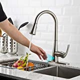 Touchless Kitchen Faucet with Pull Down Sprayer, Kitchen Sink Faucet...