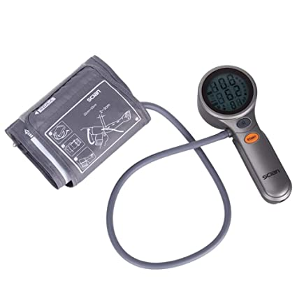 bakaji medidor de presión sanguínea Digital de brazo tensiómetro Profesional Electrónico Automático con pantalla LCD retroiluminada