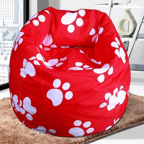 Amazon Bean Bags Chairs Bulk Unisex New BeanBag Indoor Bag Sofa Lounge Chair For Kids Red Cows Kitchen Dining