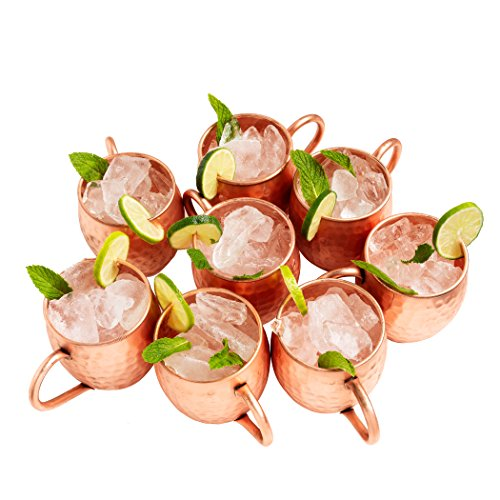 Moscow Mule Mugs, Copper Mugs, Copper Cups, Moscow Mule Cups - cover