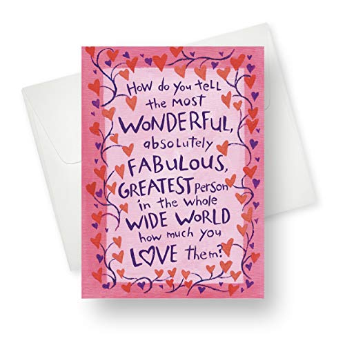 Northern Cards - Valentine's Card - Absolutely Fabulous - Large