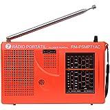 Rádio Portátil Motobras 0,5W RMS com 7 Faixas e Sintoniza FM,OM e OC - RM-PSMP-71AC Laranja