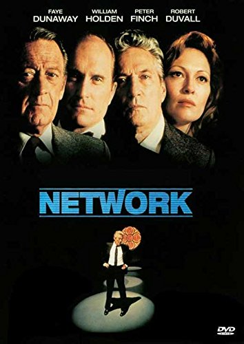 Network Poster Movie D Faye Dunaway Peter Finch William Holden