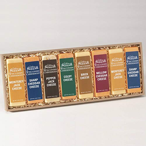 4-Pack Cheese Bars from Wisconsin Cheeseman by The Wisconsin Cheeseman (Image #1)