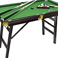 """Bello Games New York, Deluxe Folding Pool Table EXTRA LARGE 44"""""""