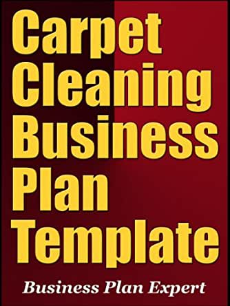 Carpet Cleaning Business Plan Outline Talentview