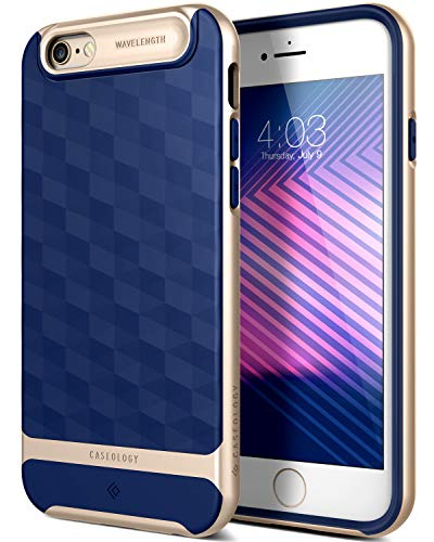 Caseology [Parallax Series iPhone 6S / iPhone 6 Case - [Award Winning Design] - Navy Blue