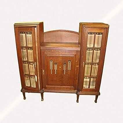 Antique Arts U0026 Crafts China Cabinet W3935 (Stickley ...