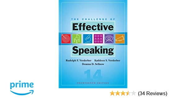 The Challenge Of Effective Speaking Available