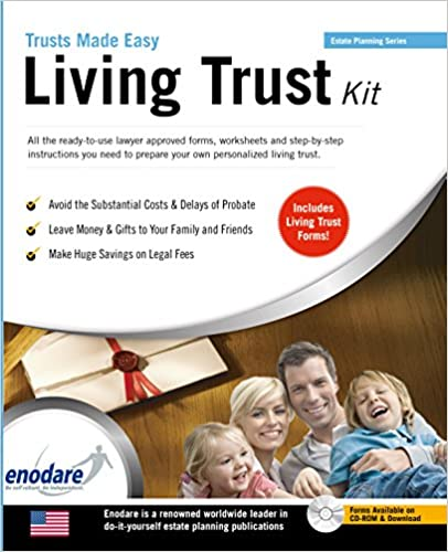 Living trust kit trusts made easy enodare 9781906144913 amazon living trust kit trusts made easy 3rd edition solutioingenieria Images