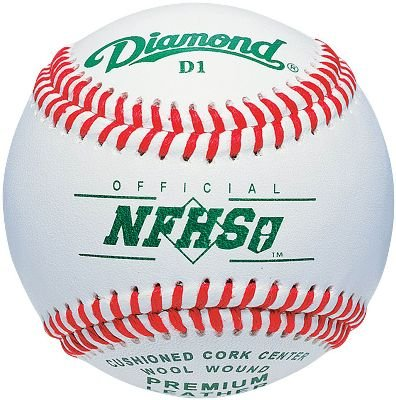 Diamond D1-NFHS Raised Seam High School Baseball (Dozen) by Diamond