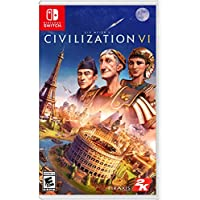 Sid Meier's Civilization VI Standard Edition for Nintendo Switch by 2K Games