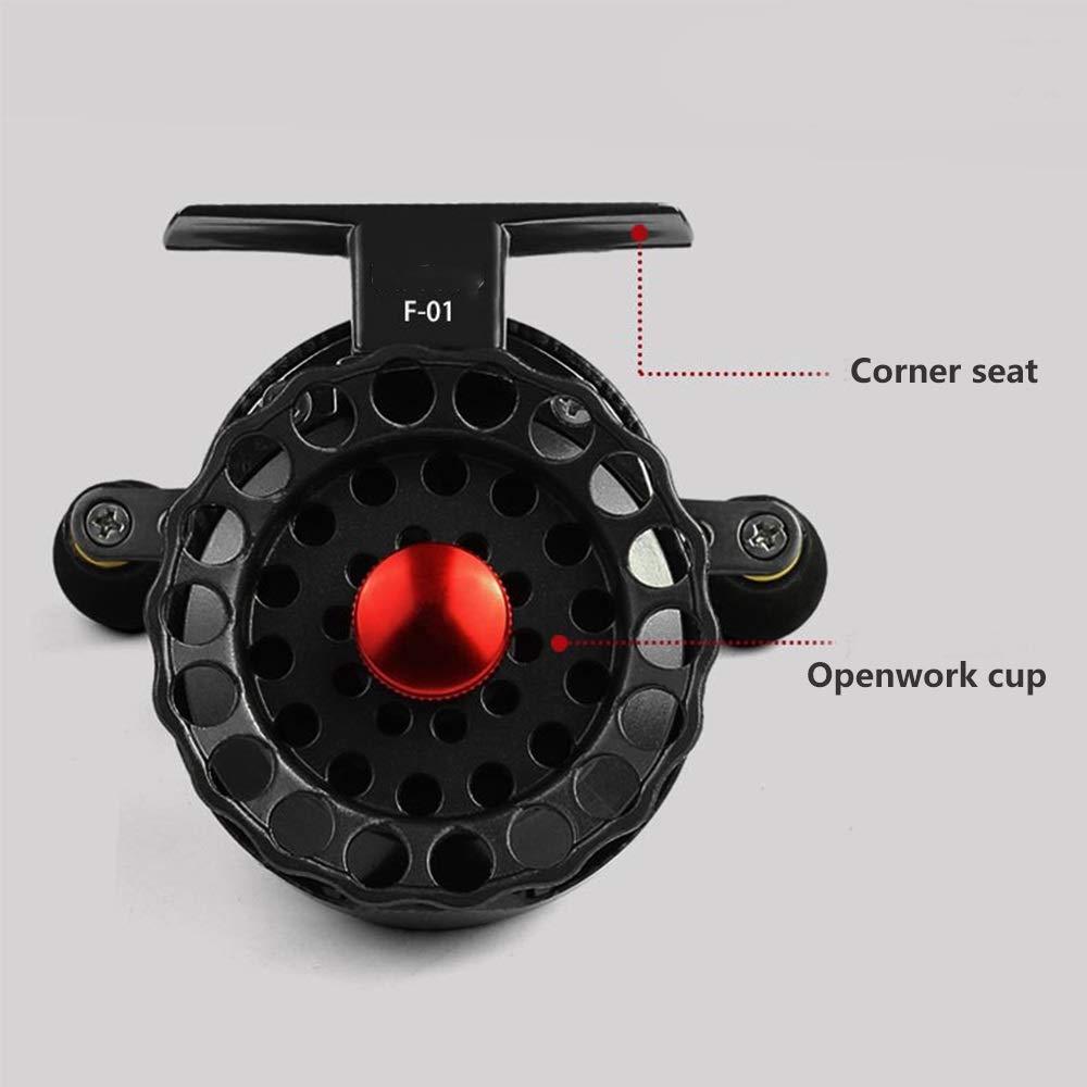 YOZOOE High Speed Ratio ABS Fishing Micro-Lead,Fishing Reel, Wheel Front Wheel Fishing Tackle Supplies (Size : Right Hand) by YOZOOE