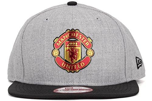 New Era Snapback Cap - Manchester United heather gris