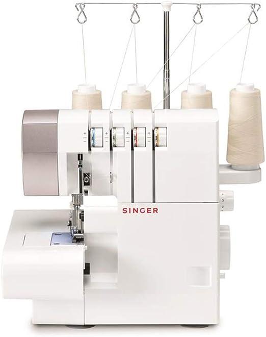 Singer 14SH754 - Máquina de Coser (Overlock, 1 Paso, Variable ...