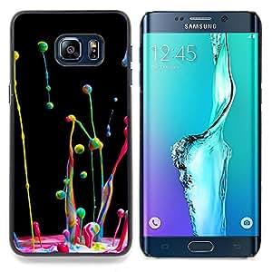 Stuss Case / Funda Carcasa protectora - Dinámica Cámara lenta gotita de agua - Samsung Galaxy S6 Edge Plus / S6 Edge+ G928
