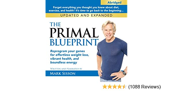 Amazon the primal blueprint reprogram your genes for amazon the primal blueprint reprogram your genes for effortless weight loss vibrant health and boundless energy audible audio edition mark sisson malvernweather Image collections
