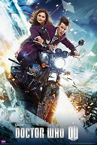 Doctor Who Bike Television Poster 24 x 36in