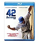 Cover Image for '42 (Blu-ray/DVD + UltraViolet Digital Copy Combo Pack)'