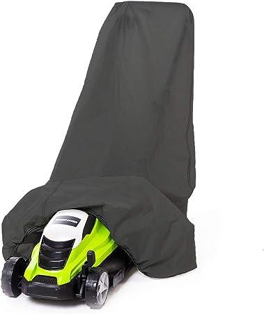 Waterproof Lawn Mower Cover Garden Walk Behind Storage Rain Dust UV Protector !
