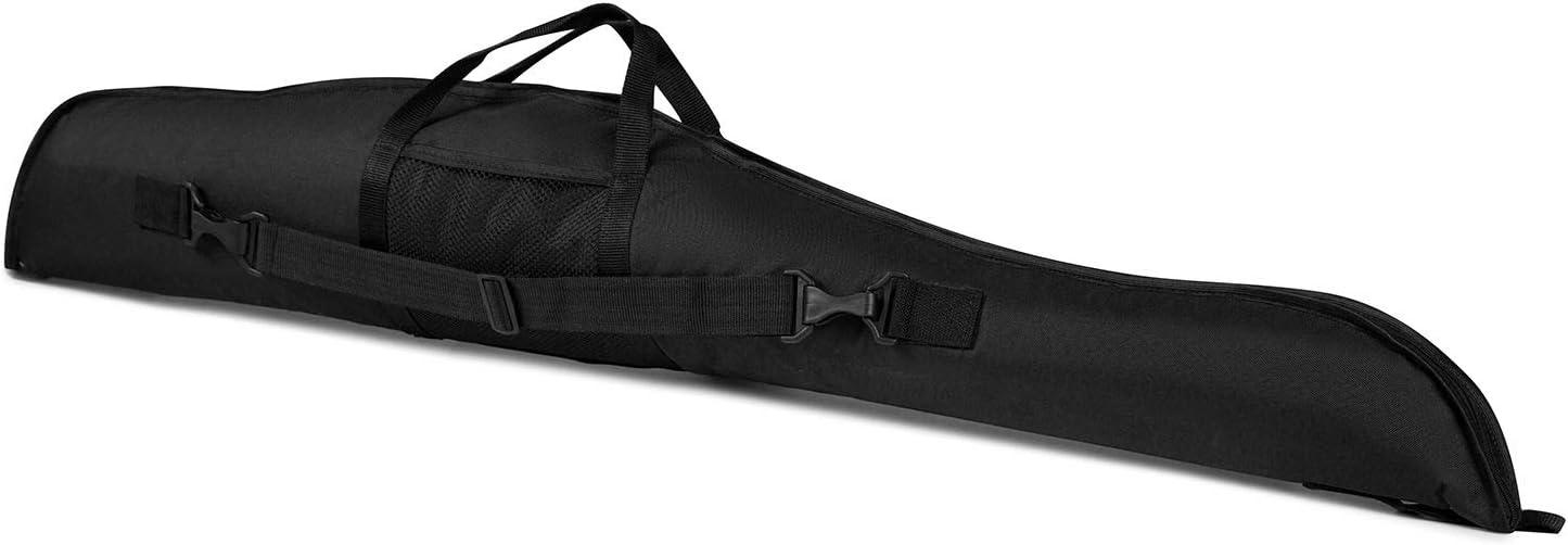 Funda para Armas Rifle Caza Escopeta táctico Espuma 115-120 cm Negro [015/1]