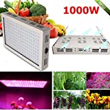 USA Premium Store 1000W Full Spectrum LED Grow Light dual Chip Medical Plant Veg Bloom Plant Panel