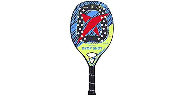 DROP SHOT Dropcode BT 3.0 Pala Pádel, Unisex Adulto, Negro, S/M/L ...