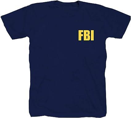 Shirtzshop FBI - Camiseta, diseño de la policía de LKA, color azul: Amazon.es: Ropa y accesorios