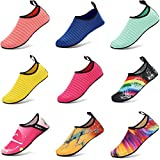 CIOR Lightweight Aqua Socks Quick-Dry Water Shoes Mutifunctional Barefoot For Beach Pool Surf Yoga Exercise